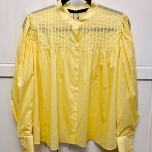 🌷NWOT Zara Women's blouse Size L
